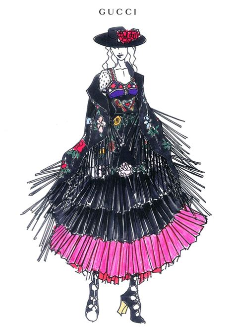 Madonna Design New Clothing Line With Hm by Madonna And Gucci Vogue It