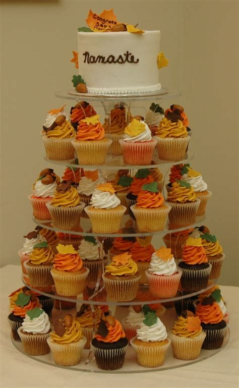 Fall Wedding Cake, Cupcakes Cake, Theme Cupcakes, Wedding