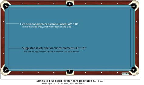 regulation size pool table the fusion conversion top