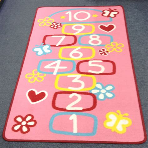 Hop Scotch Mat by Hopscotch Play Mat Lets Educate