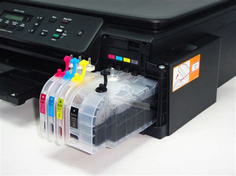 Cartridge Printer Dcp J100 lc535 lc539 large refillable cartridge for dcp j100 j105 j200