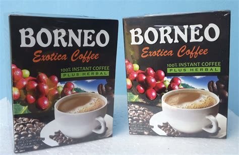 Kopi Borneo Exotica Coffee For A Isi 5 Sachet Berkualitas Jual Kopi Borneo Exotica Coffee Di Denpasar Bali Herbal