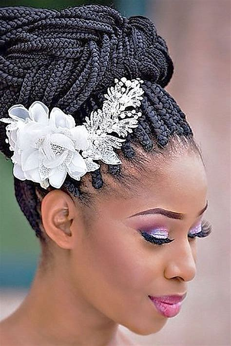 Black Wedding Hairstyles With Braids by 17 Best Ideas About Wedding Hairstyles On