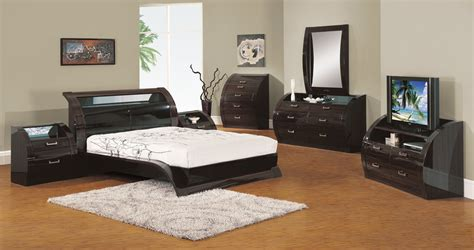 madison bedroom set global furniture usa madison platform bedroom set black