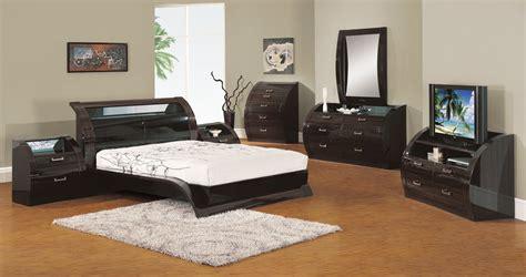 Madison Bedroom Set | global furniture usa madison platform bedroom set black
