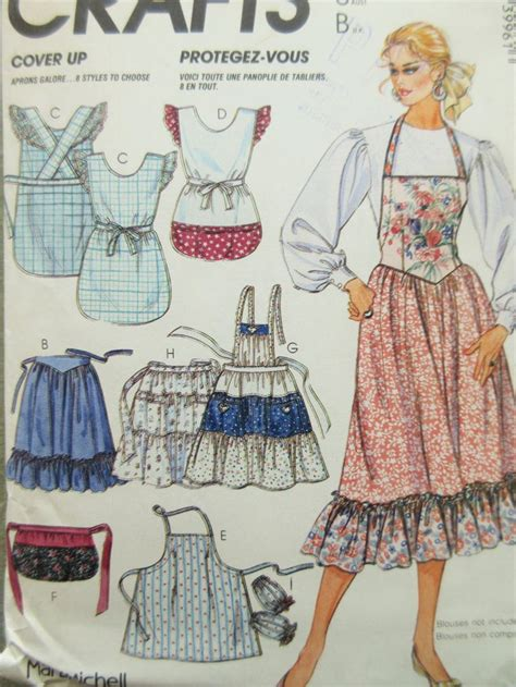sewing pattern vintage apron 221 best sewing aprons images on pinterest aprons
