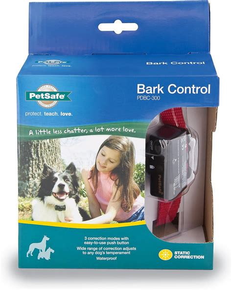 petsafe deluxe bark control collar chewy com