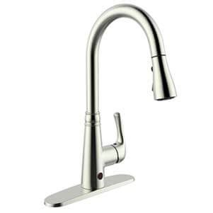 sensor faucet kitchen best touchless kitchen faucets reviews buying guide rich and posh