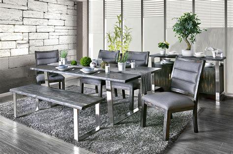rustic grey dining table keller rustic grey dining table set