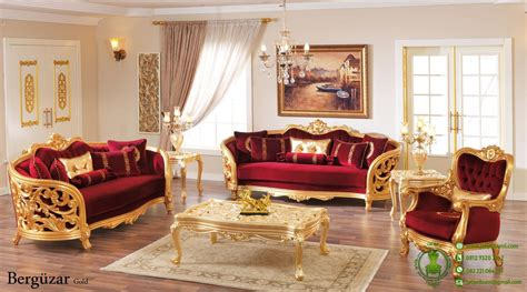 Kursi Ruang Tamu Mewah inspirasi desain rumah klasik terbaru furniture in home
