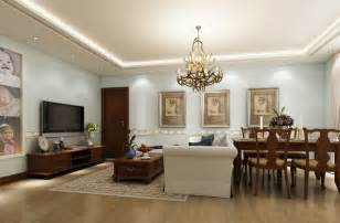 simple wall paintings for living room dining room suspended ceiling and simple droplight