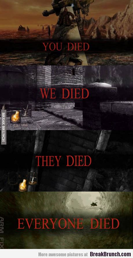 Funny Dark Souls Memes - this is what dark soul ii is all about http