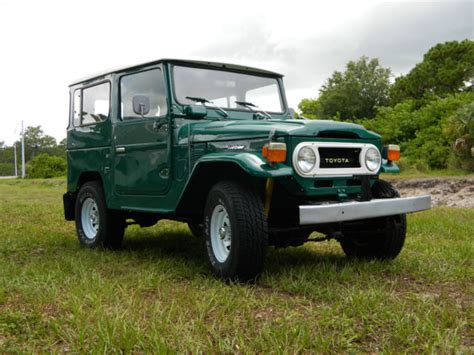 Toyota Land Cruiser Fj Series 1979 Restored Toyota Land Cruiser Fj40 Fj Landcruiser Bj40