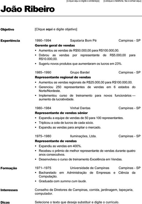 Modelo Curriculum Espa A Word modelos de curriculum vitae word
