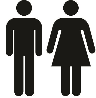bathroom man and woman the bathroom icon has no clothes family inequality