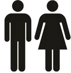 the bathroom icon has no clothes family inequality