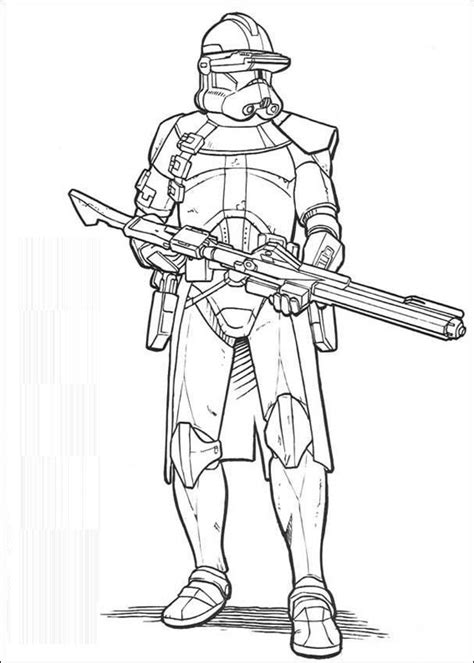 clone trooper sniper coloring page coloring pages