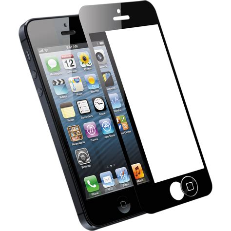 H Iphone 5s by Subtech Screen Shield For Iphone 5 5s Black 60 3249 05 Xp B H