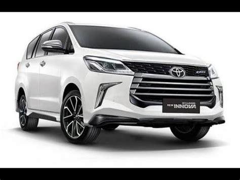 Toyota Innova Crysta 2020 by Upcoming New Toyota Innova Crysta Model 2019 2020