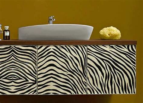 Zebra Bathroom Ideas Zebra Prints And Decorative Patterns For Modern Bathroom Decorating