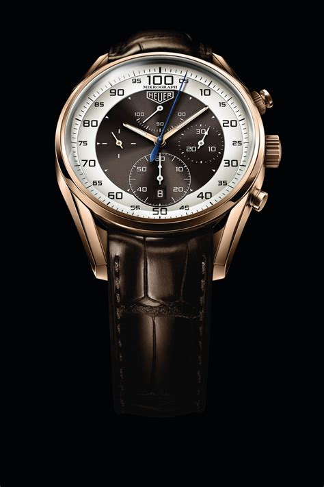 tag heuer watches limited edition tag heuer carrera mikrograph chronograph