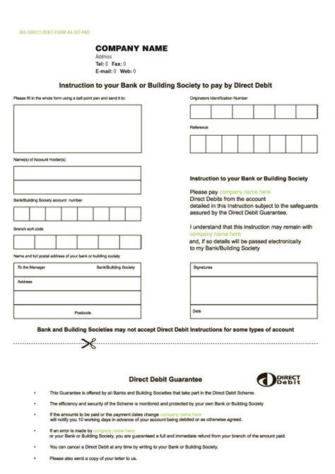 credit card direct debit form template elsevier social sciences education redefined