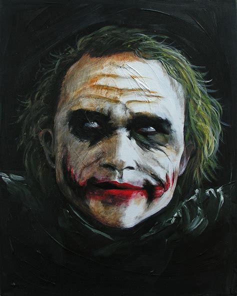 joker painting joker painting by weiklink on deviantart