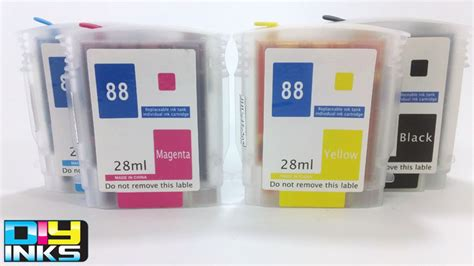 refillable ink cartridge for hp 88 k5400 k5400tn k5400dtn non oem refillable ink cartridges for hp88 l7580 l7680 ebay
