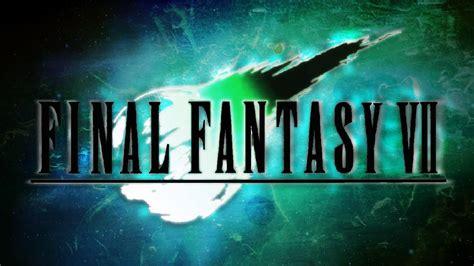 final fantasy vii wallpaper speedpaint youtube