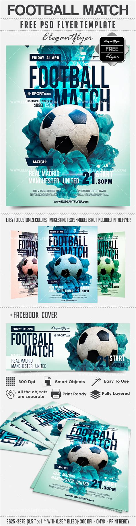 Football Psd Template
