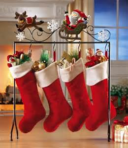 Christmas Stocking Floor Stand Holder » Home Design 2017