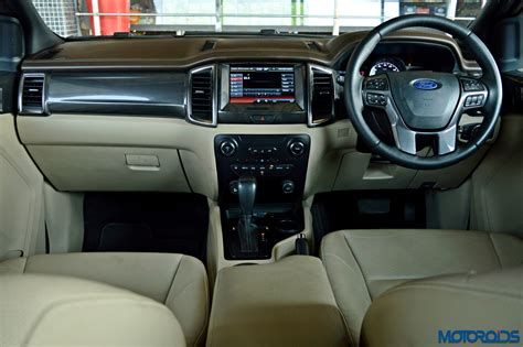 Endeavor Interior by New 2016 Ford Endeavour 2 2 Diesel 4x2 At Review