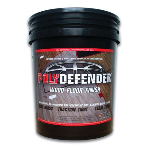 polydefender finish  gal courtsports store