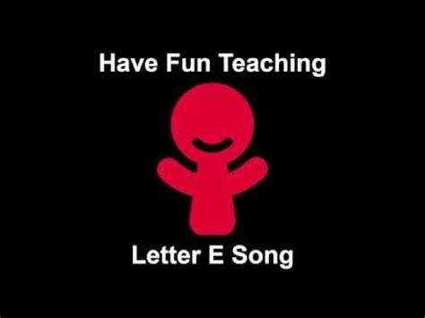 song e letter e song youtube