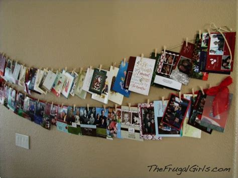 how to display christmas cards christmas cards christmas pinterest