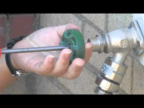how to fix a leaky free sillcock outdoor faucet
