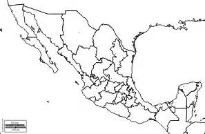 blank us map with mexico blank map of mexico states