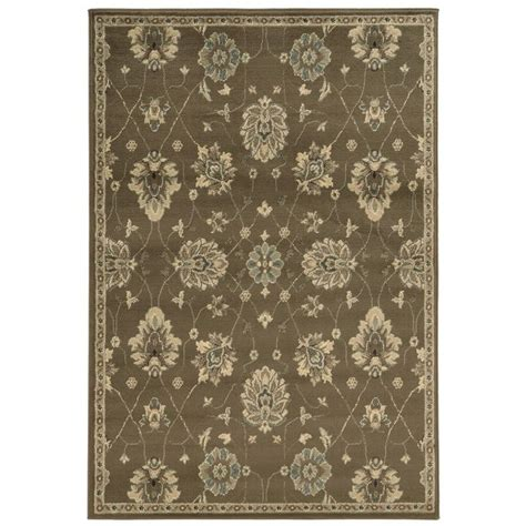 casual area rugs casual floral brown beige area rug 7 10 x 10 overstock shopping great deals on style