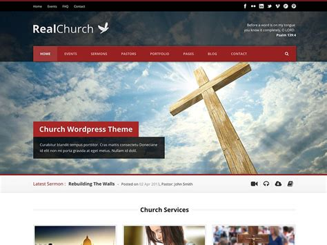 wordpress old layout 35 best church wordpress themes 2018 athemes