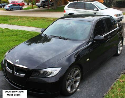 how to sell used cars 2006 bmw 330 electronic valve timing purchase used 2006 bmw 330i sedan 4 door 3 0l sport package xenon headlights black on black in