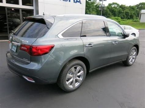 photo image gallery touchup paint acura mdx in forest mist metallic g537m