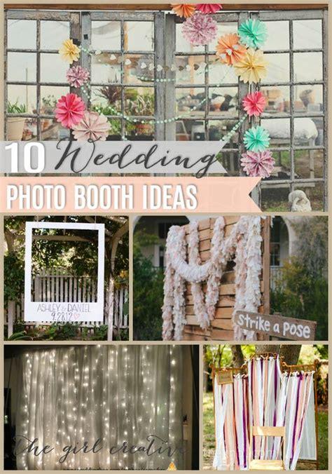 Wedding Backdrop Do It Yourself by Diy Wedding Photo Booth Wedding Photo Booths And Photo