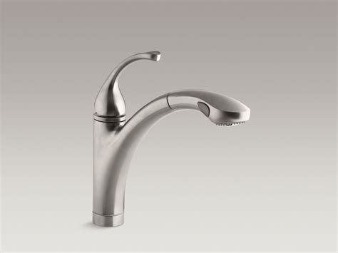 kohler forte pull out kitchen faucet standard plumbing supply product kohler k 10433 vs
