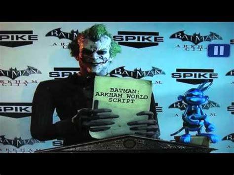 Batman Arkham World batman arkham world 2011 spike awards