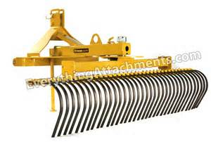 Landscape Rake Everything Attachments Everything Attachments Landscape Rake Root Rake