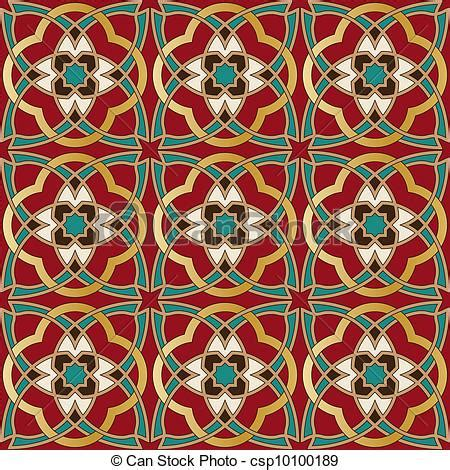 line pattern in spanish vector of arabic seamless pattern in editable vector file