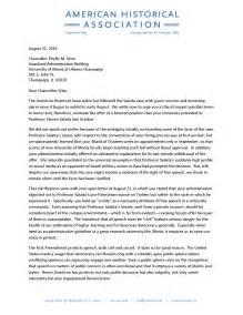 letter to of illinois chancellor regarding