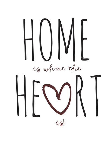 home is where the is 1