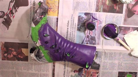 violet angelus paint how to paint leather shoes