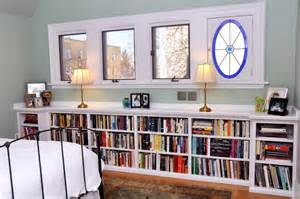 Low Bookcase Under Window Several Concept Of Under Window Bookcase At Your Bedroom